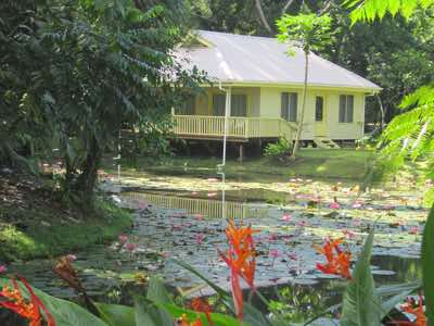 Lily pond cottage sekawa beach estate fiji